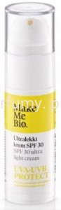 Make Me BIO - Ultralekki Krem do Twarzy SPF 30 - 30 ml