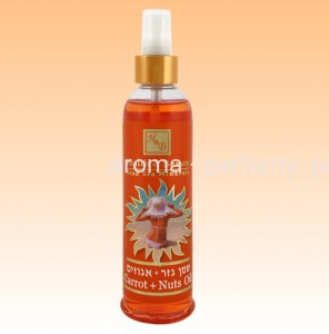 Health & Beauty - Olejek do Opalania i po Solarium - Karotka - Orzech - 250 ml